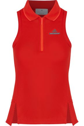 ADIDAS by STELLA McCARTNEY Neon stretch-knit tank