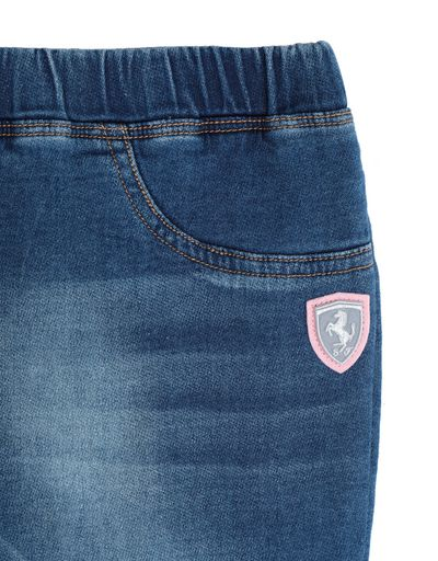 Scuderia Ferrari Online Store - Girls' jeggings with Shield - Tights & Yoga Pants
