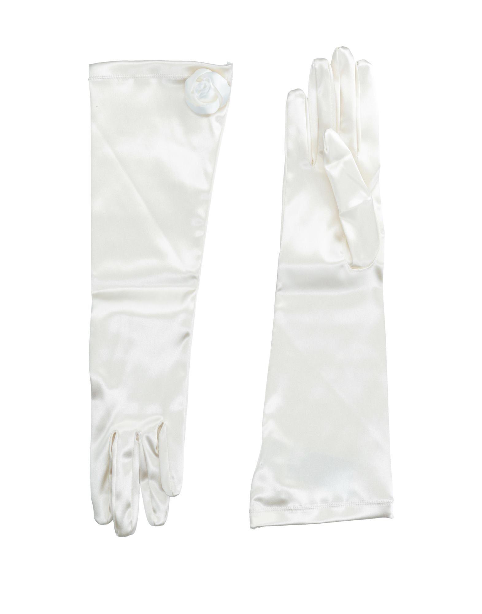 ARMANI COLLEZIONI Damen Handschuhe Farbe Elfenbein Größe 5