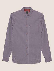 ARMANI EXCHANGE SLIM-FIT PLAID STRETCH SHIRT Checked Shirt Man r