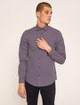 ARMANI EXCHANGE SLIM-FIT PLAID STRETCH SHIRT Checked Shirt Man f