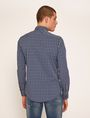 ARMANI EXCHANGE SLIM-FIT PLAID STRETCH SHIRT Checked Shirt [*** pickupInStoreShippingNotGuaranteed_info ***] e
