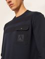 ARMANI EXCHANGE Top in pile Uomo b