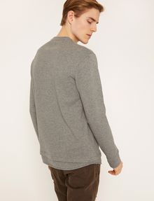 ARMANI EXCHANGE UTILITY-STYLE PIECED LOGO SWEATSHIRT Fleece Top Man e