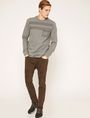 ARMANI EXCHANGE UTILITY-STYLE PIECED LOGO SWEATSHIRT Fleece Top Man d