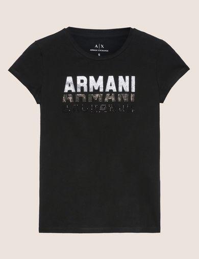 ARMANI EXCHANGE ロゴTシャツ レディース R