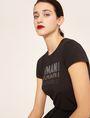 ARMANI EXCHANGE GLITTER STUD SHADOW LOGO TEE Logo T-shirt [*** pickupInStoreShipping_info ***] a