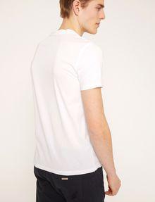 ARMANI EXCHANGE DEBOSSED TONAL LOGO TEE Logo T-shirt Man e