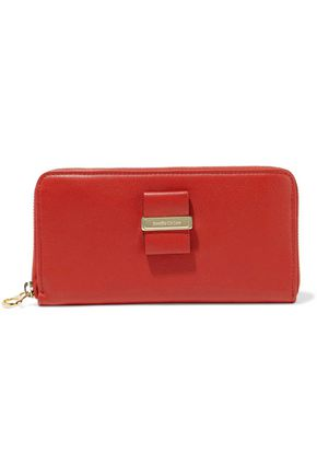 SEE BY CHLOÉ Textured-leather continental wallet