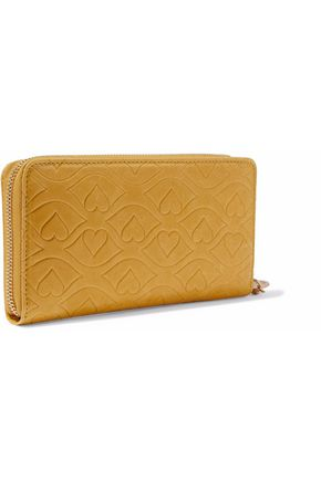 SEE BY CHLOÉ Embossed leather continental wallet