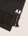 ARMANI EXCHANGE EMBROIDERED GLITTER FRINGED SCARF Scarf Woman e