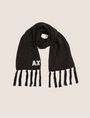 ARMANI EXCHANGE EMBROIDERED GLITTER FRINGED SCARF Scarf Woman f