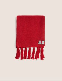 ARMANI EXCHANGE EMBROIDERED GLITTER FRINGED SCARF Scarf Woman d