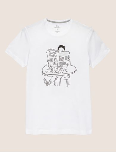CARTOON READER LOGO TEE