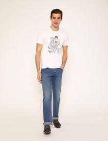 ARMANI EXCHANGE CARTOON READER LOGO TEE Graphic T-shirt [*** pickupInStoreShippingNotGuaranteed_info ***] d