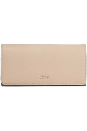 DKNY Textured-leather continental wallet