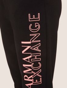ARMANI EXCHANGE POSITIVE/NEGATIVE LOGO SWEATPANT Fleece Pant Woman b