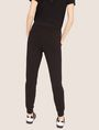 ARMANI EXCHANGE POSITIVE/NEGATIVE LOGO SWEATPANT Fleece Pant Woman e