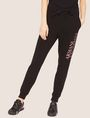 ARMANI EXCHANGE POSITIVE/NEGATIVE LOGO SWEATPANT Fleece Pant Woman f