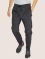 ARMANI EXCHANGE HIGH-SHINE LOGO TAPE SWEATPANT Fleece Trouser Man f