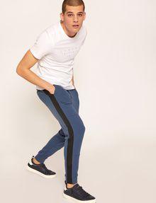 ARMANI EXCHANGE MESH PANELED LOGO TAPE SWEATPANT Fleece Pant [*** pickupInStoreShippingNotGuaranteed_info ***] a