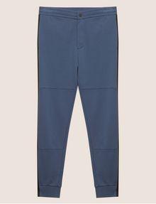 ARMANI EXCHANGE MESH PANELED LOGO TAPE SWEATPANT Fleece Pant [*** pickupInStoreShippingNotGuaranteed_info ***] r