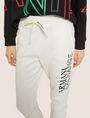 ARMANI EXCHANGE POSITIVE/NEGATIVE LOGO SWEATPANT Fleece Pant Woman b