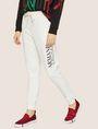 ARMANI EXCHANGE POSITIVE/NEGATIVE LOGO SWEATPANT Fleece Pant Woman f