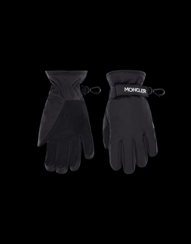 GLOVES Black Junior 8-10 Years - Girl