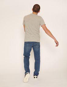 ARMANI EXCHANGE SLIM-FIT OVERLAY DECO CREW Logo T-shirt Man e