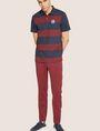 ARMANI EXCHANGE HIGH-SHINE LOGO TAPE SWEATPANT Fleece Pant Man a