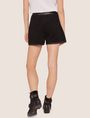 ARMANI EXCHANGE FAUX-LEATHER TRIMMED WOOL BLEND SHORT Shorts [*** pickupInStoreShipping_info ***] e
