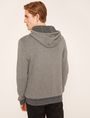 ARMANI EXCHANGE LOGO KNIT SWEATER HOODIE Pullover Man e