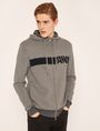 ARMANI EXCHANGE LOGO KNIT SWEATER HOODIE Pullover Man f