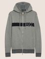 ARMANI EXCHANGE LOGO KNIT SWEATER HOODIE Pullover Man r