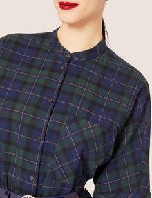 ARMANI EXCHANGE チェック柄オーバーシルエットシャツ チェックシャツ レディース b