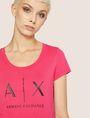 ARMANI EXCHANGE T-shirt au logo Femme b