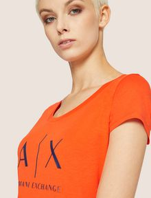 ARMANI EXCHANGE Logo T-shirt Woman b