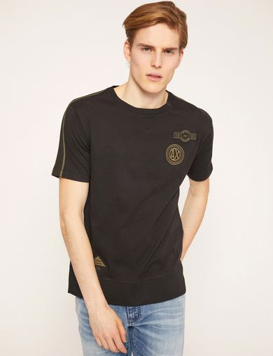 ARMANI EXCHANGE T-shirt grafica Uomo F