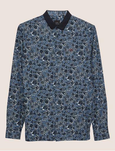 ARMANI EXCHANGE ロングスリーブシャツ メンズ R