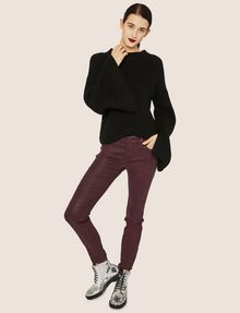 ARMANI EXCHANGE BELL-SLEEVE WOOL-BLEND SWEATER Turtleneck [*** pickupInStoreShipping_info ***] d