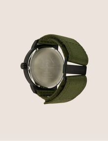 ARMANI EXCHANGE ARMY GREEN FABRIC BAND WATCH Fashion Watch [*** pickupInStoreShippingNotGuaranteed_info ***] e