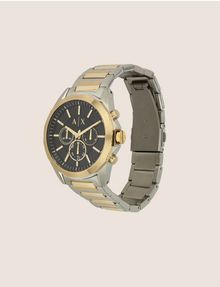 ARMANI EXCHANGE Chronograph mit zweifarbigem Stahlarmband Fashion Watch [*** pickupInStoreShippingNotGuaranteed_info ***] d