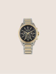 ARMANI EXCHANGE Chronograph mit zweifarbigem Stahlarmband Fashion Watch [*** pickupInStoreShippingNotGuaranteed_info ***] f