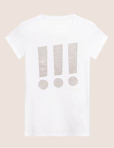 ARMANI EXCHANGE T-shirt grafica Donna R