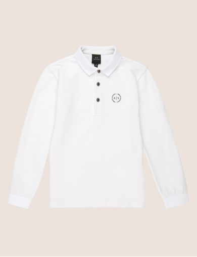 ARMANI EXCHANGE Langärmeliges Poloshirt Herren F