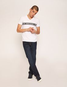 ARMANI EXCHANGE VネックTシャツ ロゴTシャツ メンズ d