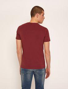 ARMANI EXCHANGE SLIM-FIT EMBROIDERED OVERLAP CREW Logo T-shirt Man e
