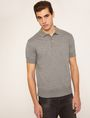 ARMANI EXCHANGE CHANNEL QUILTED BACK POLO SHORT SLEEVES POLO Man f