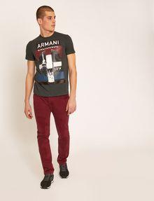 ARMANI EXCHANGE SLIM-FIT EMPIRE STATE LOGO CREW Graphic T-shirt [*** pickupInStoreShippingNotGuaranteed_info ***] d